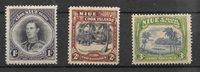 Colonie britanniche 1938 - Mic. 58-60 - Nuovo linguellato