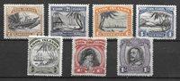 Colonie britanniche 1933 - Mic. 38-44 - Nuovo linguellato