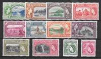 Colonie britanniche 1953 - SG. 267-78 - Nuovo linguellato