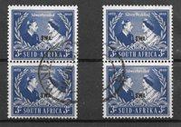 Colonie britanniche 1948 - Mic. 178-79 - Usati