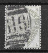 Grande Bretagne 1883 - AFA 78 - Oblitéré