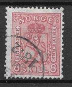 Norvège 1867 - AFA 15 - Oblitéré
