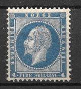 Norvège 1856 - AFA 4 - Neuf avec charnière