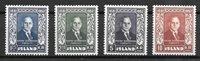 Island 1952 - AFA 282-285 - postfrisk