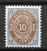 Antillas danesas 1901 - AFA 11B - Nuevo