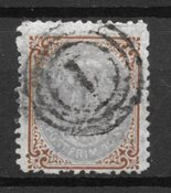 Danemark 1870 - AFA 21 - Oblitéré