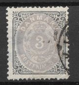 Danemark 1871 - AFA 17 - Oblitéré