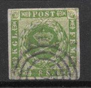 Danemark 1858 - AFA 8 - Oblitéré