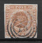 Danemark 1854 - AFA IIIa - Oblitéré