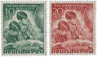 Berlin 1951 - Michel 80-81 - Postfrisk