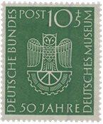Tyskland 1953 - Michel 163 / AFA 1126 - Postfrisk