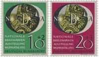 Republique Fédéraled'Allemagne 1951 - Michel 141-142 - Neuf