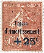 Frankrig - YT 250 postfrisk