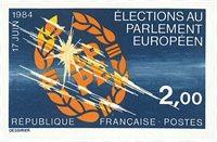 Frankrig - YT 2306 utakket