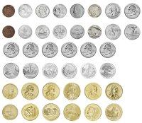 Etats-Unis - 1899-2013 - La Conquête de l'Ouest - 20 monnaies dans un écrin