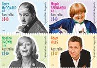 Australien - Legender 2020 - Postfrisk sæt 4v