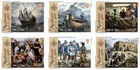 Isle of Man - 400-året for Mayflower - Postfrisk sæt 6v