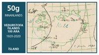 Island - Meteorologisk institut - Postfrisk frimærke