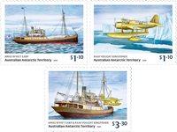 Australsk Antarktis - Wyatt Earp - Postfrisk sæt 3v