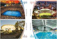 Australien - Sportsarenaer - Postfrisk sæt 4v