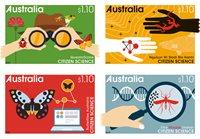 Australien - Videnskab - Postfrisk sæt 4v