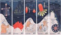 Australien - 250-året for Cook's Endeavour - Postfrisk sæt 10v