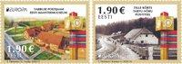 Estland - Europa 2020 Oude Postroutes - Postfrisse serie van 2