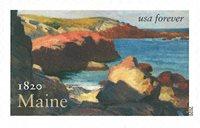 Etats-Unis - Maine sa * - Timbre neuf