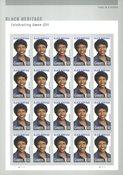 USA - Gwen Ifill - Postfrisk 20-ark