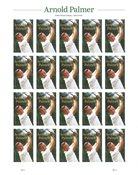 USA - Arnold Palmer - Postfrisk 20-ark