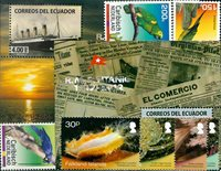 South America, various countries - Stamp packet - Mint