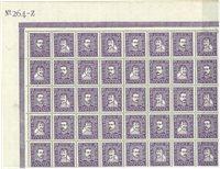 Danmark - AFA 136-137 postfrisk 40-blok