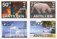 Hollandske Antiller 2008 - NVPH 1814-1817 - Postfrisk