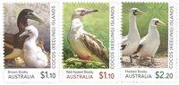 Cocos Keeling Islands - Booby Birds - Postfrisse serie van 3