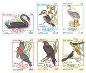 Australië - National birds van the verschillende staten - Postfrisse serie van 6
