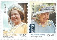 Australien - Dronningens fødselsdag - Postfrisk sæt 2v