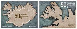 Islande - Europa 2020 Anciennes routes postales - Série neuve 2v