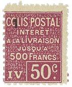 France - Colis postaux YT 73 - Neuf avec charnières