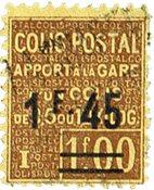 Frankrijk postpakket zegel Y&T nr 88a