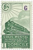 France - Colis postaux YT 223A - Neuf avec charnières