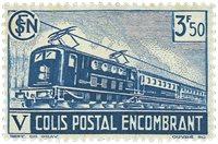 France - Colis postaux YT 186 - Neuf avec charnières