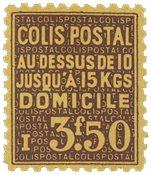 France - Colis postaux YT 166 - Neuf avec charnières