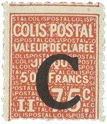 France - Colis postaux YT 112 - Neuf avec charnières