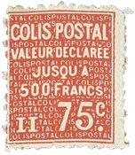 France - Colis postaux YT 98 - Neuf avec charnières