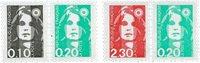 Frankrig - YT P2614+17 Postfrisk