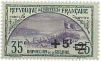 France 1922 - YT 166 - Neuf avec charnière