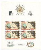Tjekkoslovakiet 1988 - Michel Blok 83 - Stemplet