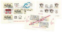 Tjekkoslovakiet 1980-1983 - MICHEL Blok 42+44+56 -  Stemplet