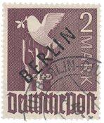 Tyskland/Berlin 1948 - Michel 18 - Stemplet