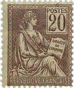France - YT 113 - Neuf avec charnières